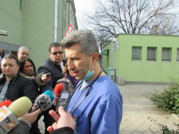 Утре ще е ясно дали настанената в инфекциозно отделение в Русе е болна от коронавирус