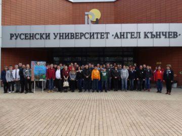 Наградиха победителите във второто състезание ЕЛЕКТРОНИАДА в Русенския университет