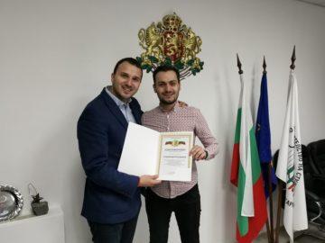 Станимир Бояджиев от Русенския университет е избран за заместник-председател на Националната студентска организация