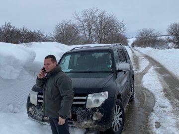 Кметът Пенчо Милков посети населени места от общината за да се запознае на място със ситуацията там