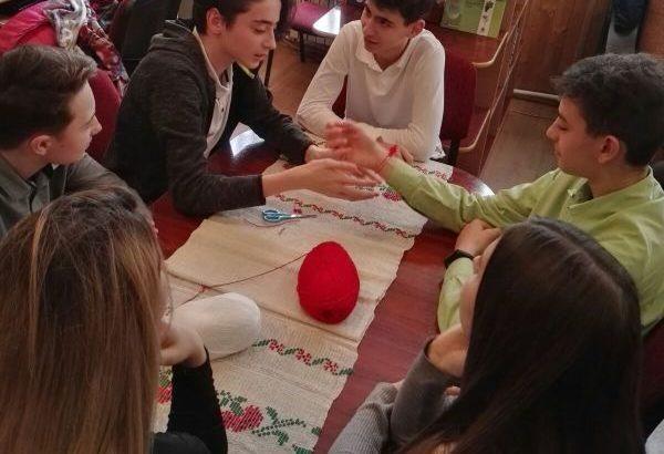 Работилница за мартеници събра български и румънски ученици в Гюргево