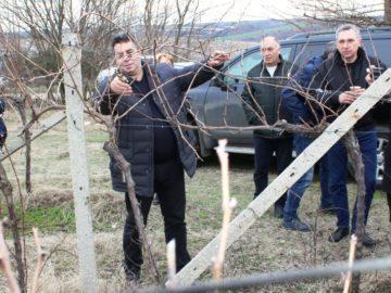 Областният управител чества Трифон Зарезан заедно с жителите на Пиргово