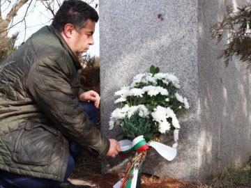 Областният управител почете 148-та годишнина от рождението на Гоце Делчев