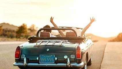 автомобил щастие кола пътуване