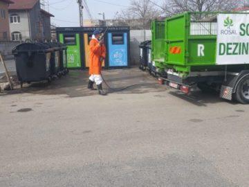 84 площадки с контейнери за отпадъци дезинфекцират в Гюргево