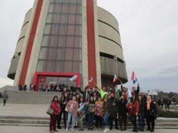 "Учениците от СУ ""Св. Паисий Хилендарски"" посетиха Плевен на Трети март"