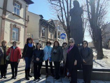 Регионален исторически музей осъществи своята феминистична разходка Военен клуб и Дамски клуб към РСОСЗР – Русе