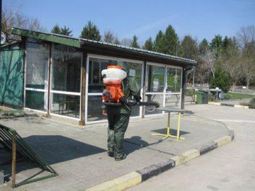 Община Сливо поле продължава с дезинфекционните мероприятия по график