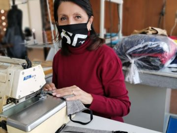 5 000 маски за еднократна употреба изработиха в ПГО - Русе
