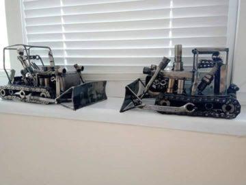 """ОП """"Комунални дейности"""" - Сливо поле впечатли с уникални метални модели"""