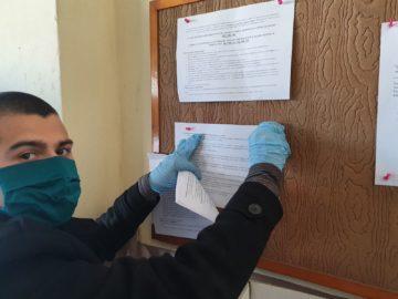 Доброволци от ВМРО разпространяват листовки за извънредното положение в Русе