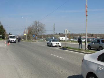 Полицаи на КПП -та при входовете на Русе проверяват всяко влизащо и излизащо ППС