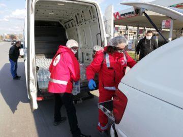 Съвместна акция на Община Русе, МВР и БЧК в помощ на шофьорите на Дунав мост 1