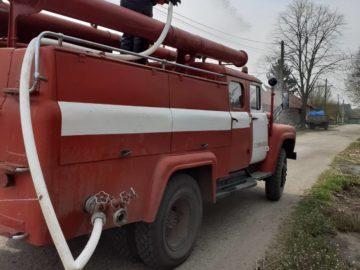 Община Сливо поле извърши дезинфекция на района около къщата в Ряхово, където е пребивавал заразения с коронавирус