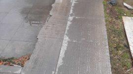 Нови гранитни плочи постави Община Русе на сухия фонтан пред Операта