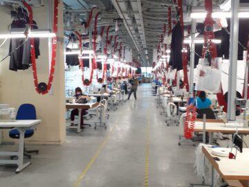 Нова модерна линия за производство на маски заработи в Топ Мен
