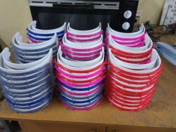 Над 1800 предпазни шлема са изработени и дарени от Русенския университет за 20 дни