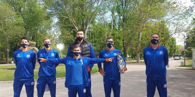 """Момчетата от ВК """"Дунав"""" - Русе - доброволци в борбата срещу коронавируса"""