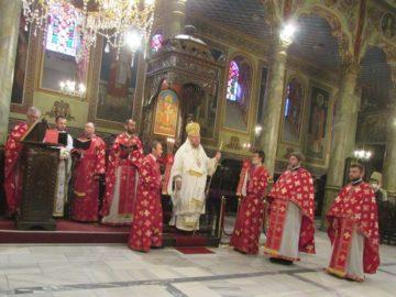 Русенският митрополит Наум отслужи пасхалната литургия за т. нар. Второ Възкресение Христово
