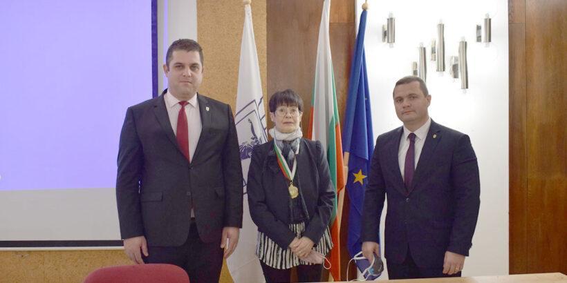 почетен гражданин на Русе Ива Чавдарова