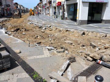 Завършва превръщането на централна пешеходна гюргевска улица в удобна за МПС