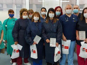 """Жест към екипа на Мултипрофилно спешно отделение на Университетска болница """"Канев"""""""
