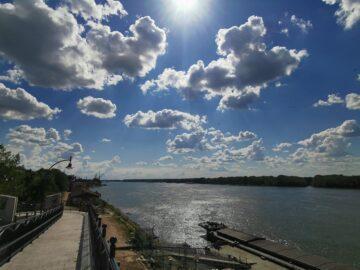 Слабо е намалял товарният трафик по река Дунав