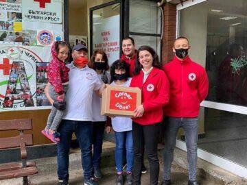 Русенец дари обяд на доброволците и служителите от Българския Червен кръст в града