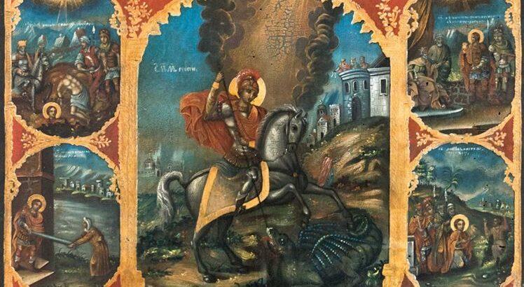 Отбелязваме 6 май – Гергьовден, Деня на храбростта и българската армия и Деня на град Русе с иконите на Св. Георги
