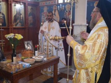 Заупокойна света литургия и панахида в Басарбовския манастир