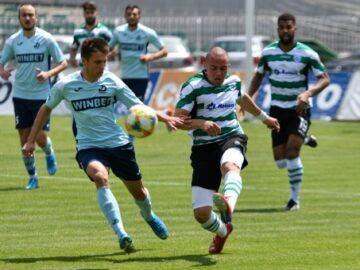 """Черно море отстъпи на Дунав Русе с 0:1 в контролна среща на стадион """"Тича"""""""