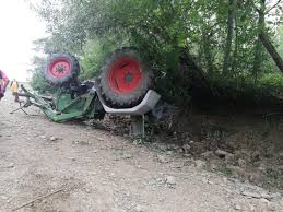 Мъж загина при преобръщане на трактор край гюргевско село