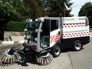Машина за почистване на улици закупи Община Ценово