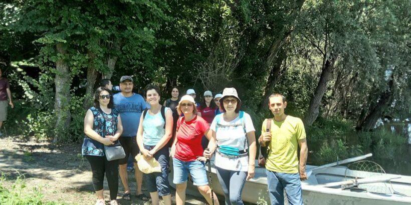 Близо 85 участници в поход на Ruse Go направиха обиколка на резерват Сребърна