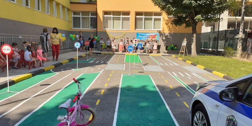 """ДГ """"Русалка"""" отбеляза Деня на безопасността на движението по пътищата"""