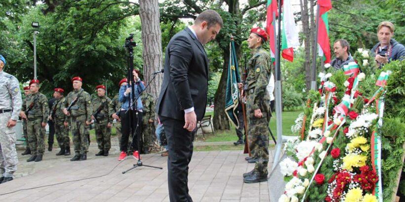 ВМРО почете паметта на загиналите за България в Русенска област