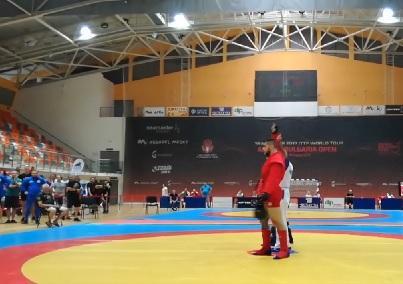 Любомир Тончев стана шампион на държавното първенство по бойно самбо