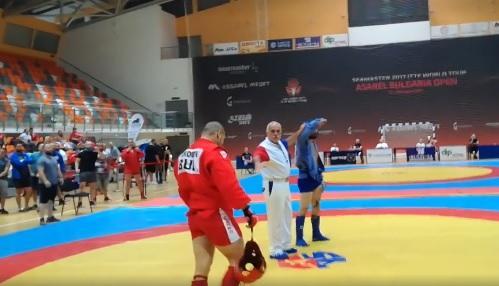 Станислав Енчев стана шампион на държавното лично отборно първенство по бойно самбо