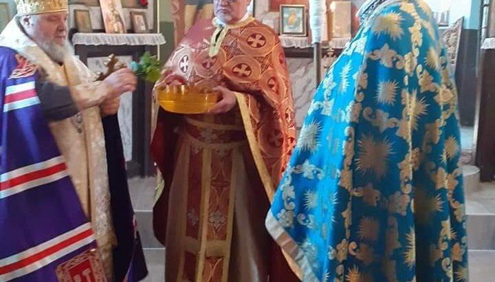 """Днес бе извършено тържественото обновление на храм """"Св.Димитър"""" в Новград"""