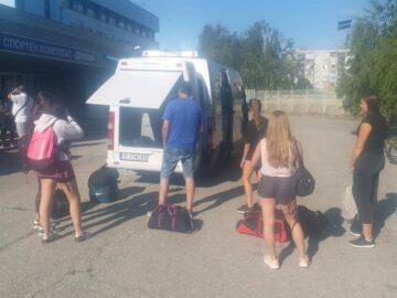 """Девойките U19 на СКБ """"Дунав-Русе-2016"""" отпътуваха за участие във финалите"""