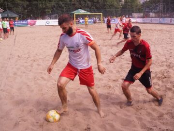 ФК Русе с трета поредна победа в Mussala Национална лига beach soccer, надигра с 9:7 Атлетик (Каблешково)
