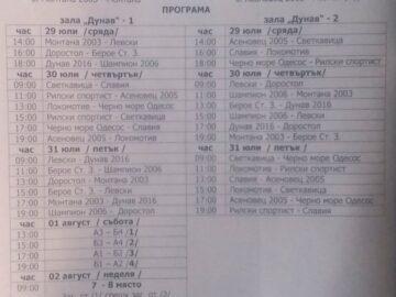 """СКБ """"Дунав-Русе-2016"""" ще бъде домакин на финалния турнир за държавната титла при девойките U16"""