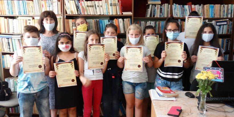 Ученици от Долна Студена влязоха в ролята на библиотекари за един ден