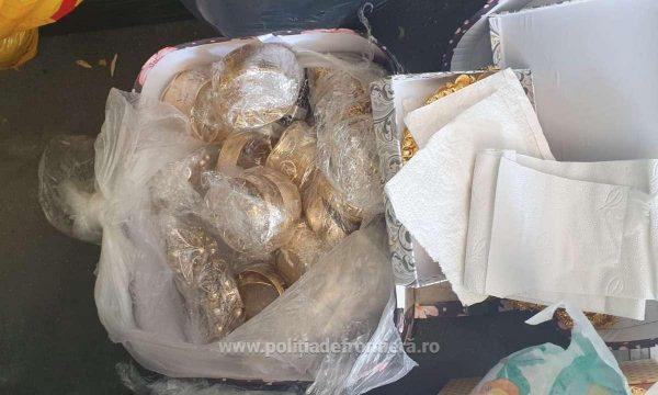 2.2 кг. контрабандни златни накити откриха в български микробус на Дунав мост 1