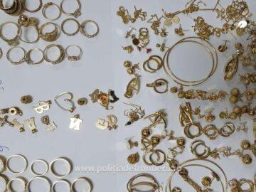 1.3 кг. контрабандни златни и сребърни бижута са задържани на Дунав мост 1