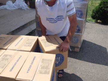 """3148 хранителни пакета за крайно нуждаещи се ще разпредели дирекция """"Социално подпомагане"""" в Окръг Гюргево"""