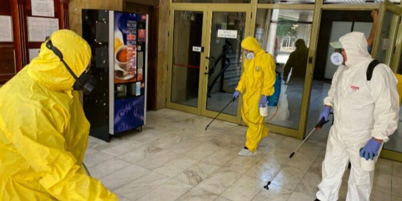 Прави се пълна дезинфекция на всички административни сгради към Община Русе