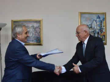 ИА ППД - Русе подписа договор за доставка на драгираща техника
