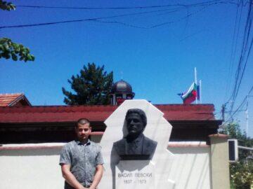 Барелеф на Васил Левски бе открит в село Екзарх Йосиф