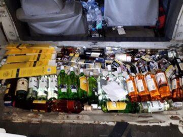 Недекларирани цигари и алкохол задържаха в български микробус на Дунав мост 1